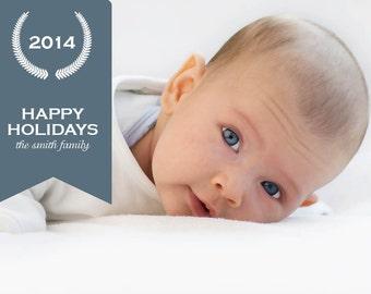 Smith Christmas Card (5x7 PRINTABLE)