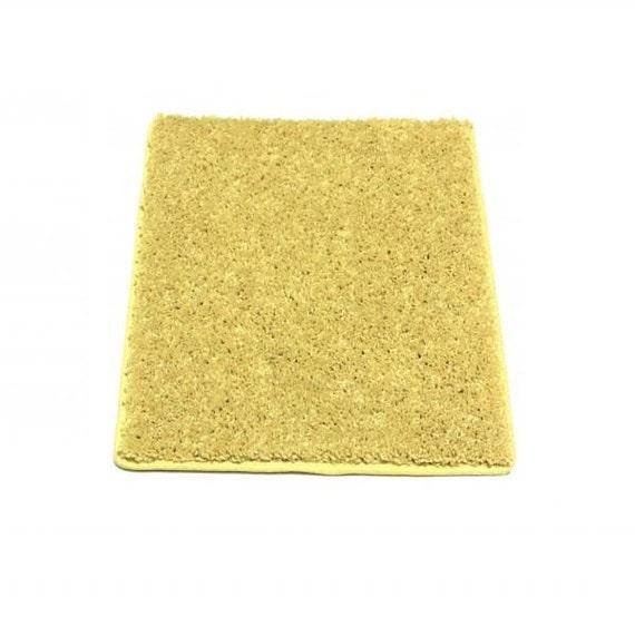 Lemon Drop Yellow 30 Oz. Plush Indoor Area Rug By