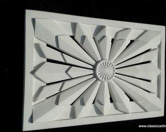 ART DECO sunburst vent cover 12 X 8
