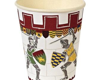 Meri Meri Brave Knights Party Cups.