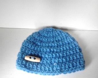 baby boy hat 3-6 months,crochet baby hat,baby hat, photo prop,chunky boy hat, crochet beanie hat,baby beanie hat