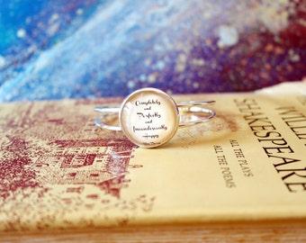 Jane Austen Pride & Prejudice Bangle