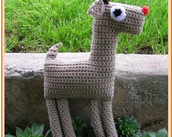 Toy Reindeer Crochet Pattern
