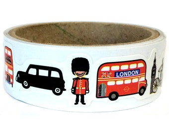 Paper Sticker Tape London SM202826