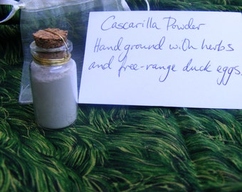 Ground free-range eggshells, cascarilla