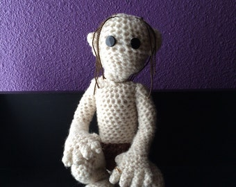 Crochet Gollum/Smeagol - Lord of the Rings/The Hobbit