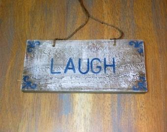 Laugh Plaque