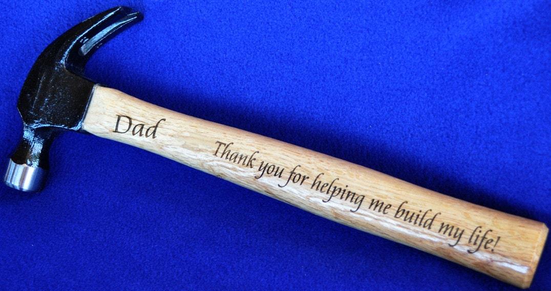 Popular items for engraved hammer on Etsy