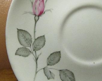 Vintage Zylstra Rose Saucer