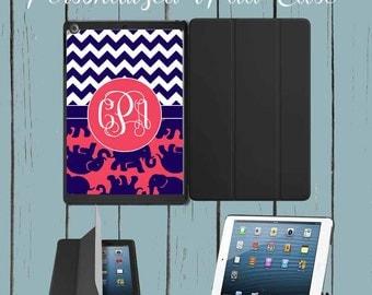 iPad Air Case iPad Mini case iPad case Lilly Pulitzer Inspired Monogram iPad Case Monogram Personalized iPad mini case