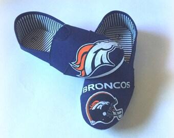 Denver Broncos Slip on Shoes, Women's Broncos Shoes