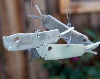 Silverware Shark Wind Chime SWC001