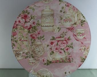Decorative Tea Time Plate