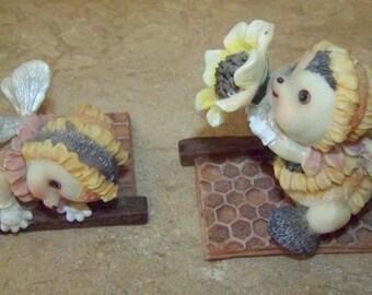 Set of 2 Bee Figures