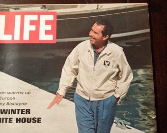 1969 Life Magazine Nixon