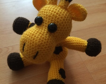 Gerry the Amigurumi Giraffe