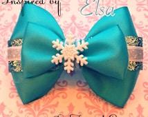 The Elsa Inspired Bow