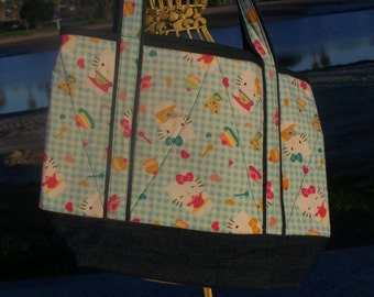 Hello Kitty Ice Cream Tote Bag