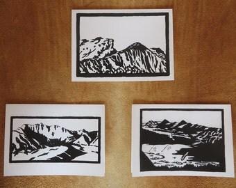 Woodblock Print Card Sets