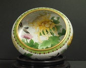 Vintage Chinese Ming Dynasty Style Cloisonne Bowl