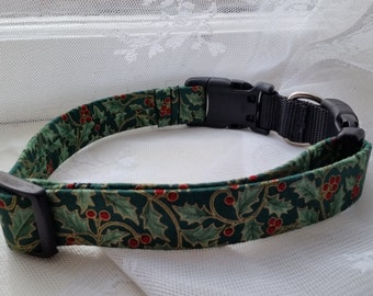 Holly with Berries -- Christmas -- Neck Band Chameleon Collar -- Part 2 of 2