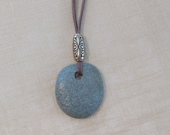 Maine River Rock Necklace