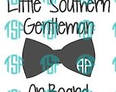 Little Southern Gentleman...