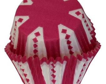 CARNIVAL Pink Cupcake Papers