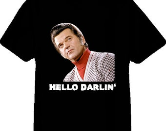 Conway Twitty Country Music Star T Shirt