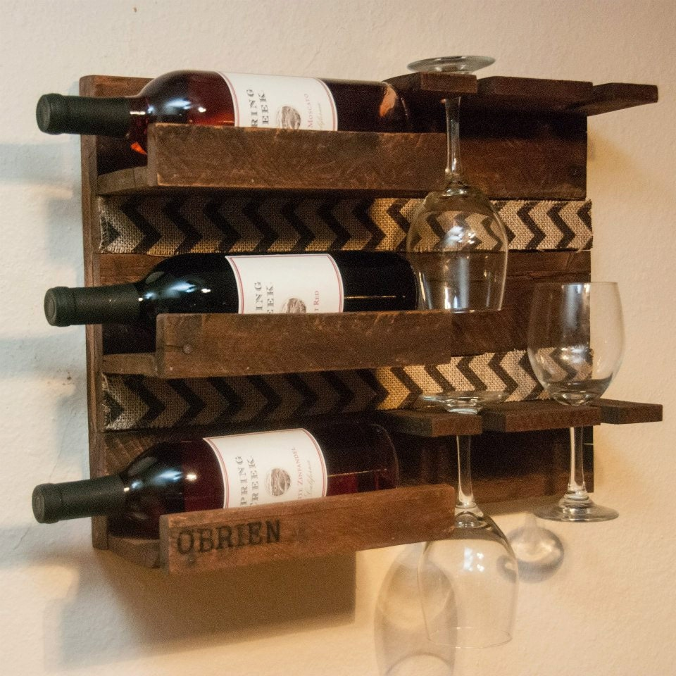 Kitchen Wine Rack Wall Wine Rack Etsy