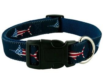 USA Marlin Dog Collar