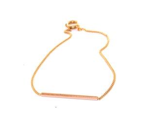 14k Gold Simple Bracelet