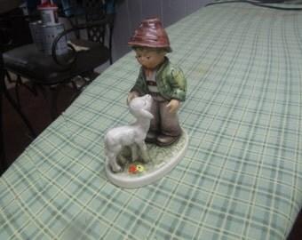 "1989  Goebel Hummel Figurine TMK7 395/0 ""Shepard Boy"""
