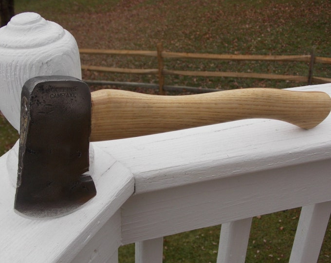 Vintage 1.5lb Collins Camp Axe with a 14 inch handle