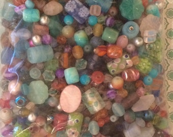 1 lb. Glass Beads - Assorted Lot