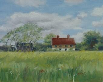 Suffolk landscape, Suffolk Cottage 2