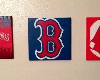 Boston Red Sox canvas set