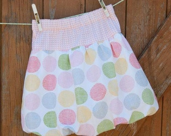 New Release SALE 24 hours only -  Bubble Skirt Pdf Pattern, Pdf skirt pattern ,Skirt pattern sizes 6M to 12 years