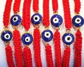 Red String Bracelet for Protection • Unisex • Waterproof • Perfect Evil Eye Braided Bracelet for Protection