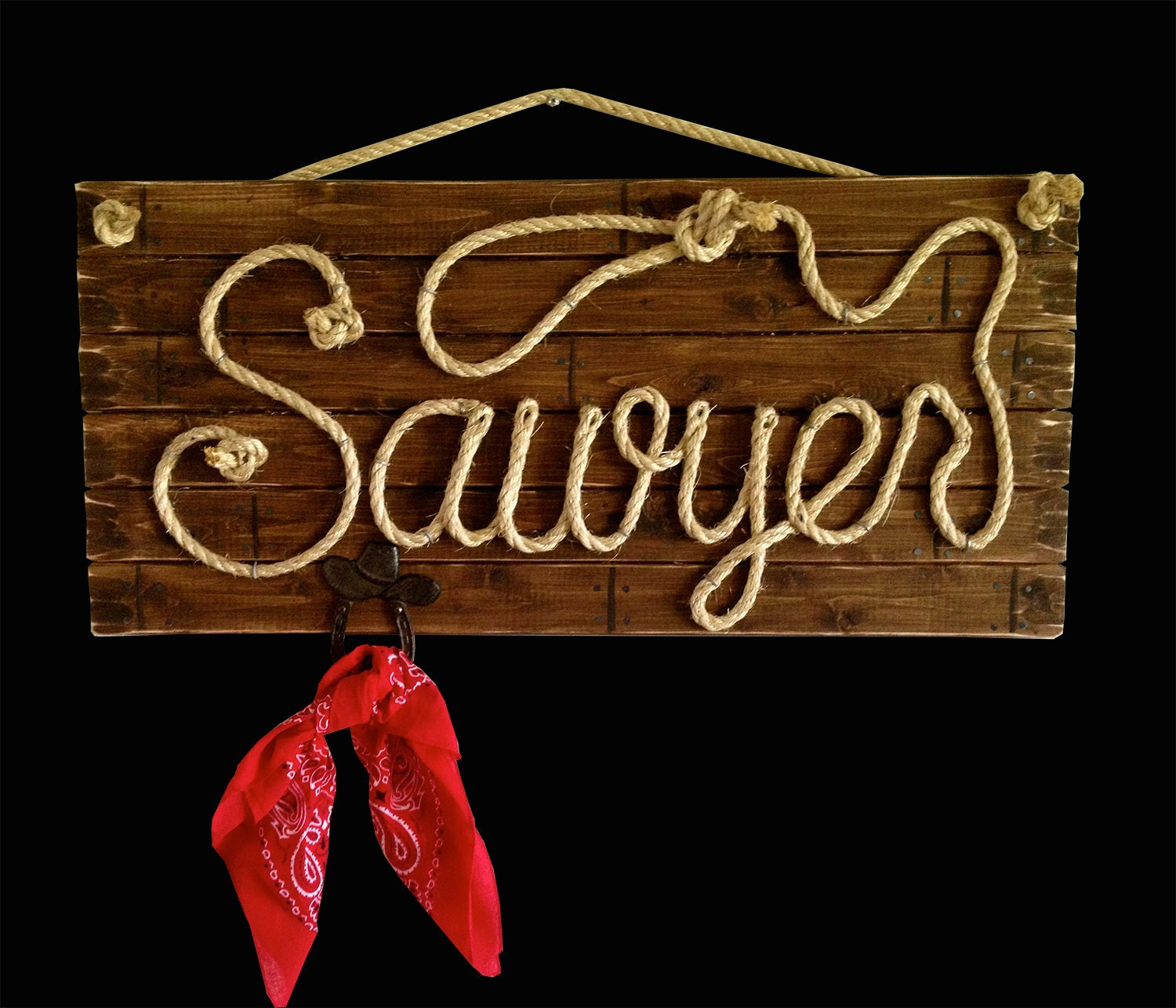 Sawyer 32 Western Rope Name Sign With Rope Hanger. Model Murals. Store Signs. Childrens Banners. Biker Stickers. Dating Signs Of Stroke. Condominium Signs. Dysmorphic Disorder Signs. Net Banners