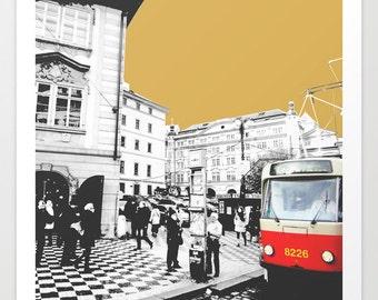 Art print, City Art Print, print, art, City Art, poster, Cityscape, Ilustration, wall art, modern, photography, city prints, BuildingsSpring