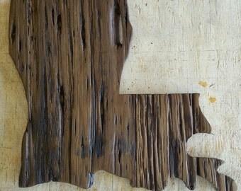 Louisiana Pecky Cypress Wall Decor