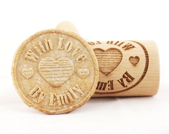 Personalized Rolling Pin for Cookies