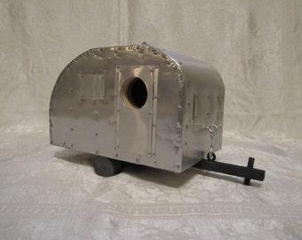 aluminum Camper birdhouse
