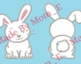 Easter Rabbit Applique - 2 Design Set!!!