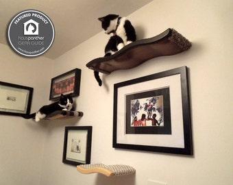 Floating Cat Shelves - 3 Perch Combo