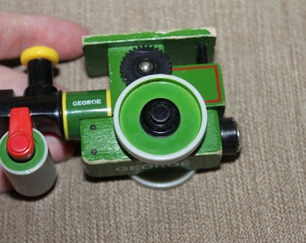 George, Thomas the Train Piece, Magnetic, Face on Front,