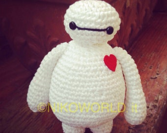 Amigurumi Handmade Baymax from Big Hero 6!