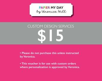 Custom Design Order - 15