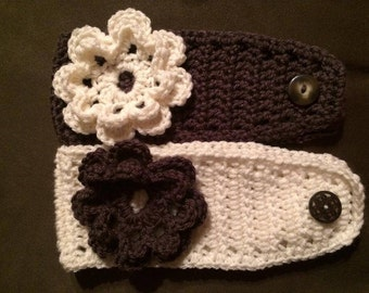 Crocheted Headband/Ear Warmer